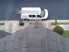 Roswell's Best Gutter Cleaners' Certainteed Certified roofers can replace cracked ridgecaps.
